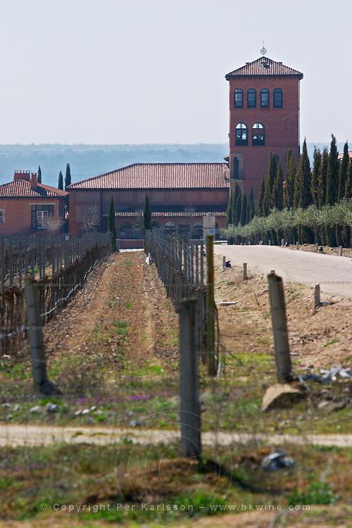 vineyard and winery Hacienda Unamuno, Durius natural Reserve, DO Arribes del Duero spain castile and leon