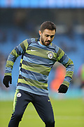 20 Bernardo Silva for Manchester City during the The FA Cup 3rd round match between Manchester City and Rotherham United at the Etihad Stadium, Manchester, England on 6 January 2019.