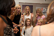TANYA BRYER; DONNA AIR Tea party in celebration of Project D by Dannii and Tabitha at Harvey Nicholls. Knightsbridge. London. 26 October 2010.  ( This is the launch of a fragrance by Dannii Minogue and Tabitha Somerset Webb ..) and -DO NOT ARCHIVE-© Copyright Photograph by Dafydd Jones. 248 Clapham Rd. London SW9 0PZ. Tel 0207 820 0771. www.dafjones.com.