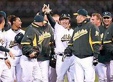 20100406 - Seattle Mariners at Oakland Athletics (MLB Baseball)