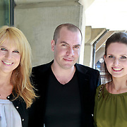 NLD/Amsterdam/20110324 - Boekpresentatie Chimaera van Xenia Kasper, Linda de Mol, Jeroen van Koningsbrugge en partner Marie Claire Witlox