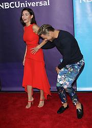 2018 NBCUniversal Summer Press Day. 02 May 2018 Pictured: Jenna Dewan, Derek Hough. Photo credit: Jaxon / MEGA TheMegaAgency.com +1 888 505 6342