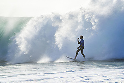 July 19, 2017 - 3X World Champion and defending event champion Mick Fanning of Australia advanced to the Quarterfinals of the Corona Open J-Bay after defeating rookie Joan Duru of France in Heat 1 of Round Five at pumping Supertubes, Jeffreys Bay, South Africa...Corona Open J-Bay, Eastern Cape, South Africa - 19 Jul 2017. (Credit Image: © Rex Shutterstock via ZUMA Press)