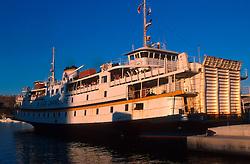MALTA GOZO MGARR JUL00 - The 'Citadella', a ferry of the Gozo Channel Line in service between Mgarr (Gozo) and Chirkawa (Malta).. . jre/Photo by Jiri Rezac. . © Jiri Rezac 2000. . Tel:   +44 (0) 7050 110 417. Email: info@jirirezac.com. Web:   www.jirirezac.com
