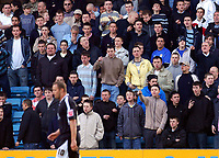 Photo: Alan Crowhurst.<br />Millwall v Swansea City. Coca Cola League 1. 31/03/2007. The Millwall fans welcome Lee Trundle.