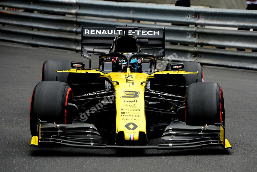 Daniel Ricciardo (Renault) during practice before the 2019 Monaco Grand Prix. Photo: Grand Prix Photo