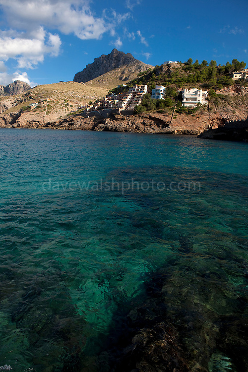 Cala Sant Vicenc, Mallorca. While some of Mallorca's accessible coast has been used for developing holiday apartments, the relatively inaccessible Cala Sant Vicenc strikes a good balance between urban and natural landscapes.