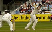 Lord's London, 1st NPower Test   England v New Zealand.  New Zealand skipper,  Stephen Fleming batting, 20/05/2004 <br /> [Credit Peter Spurrier Intersport Images}