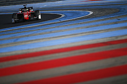 March 6, 2018 - Le Castellet, France - LOUIS DELETRAZ of Switzerland Charouz Racing System drives during the 2018 Formula 2 pre season testing at Circuit Paul Ricard in Le Castellet, France. (Credit Image: © James Gasperotti via ZUMA Wire)