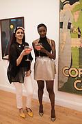 SAFREEN KHAN; BARBARA ADENIKEN, Private view for the Art of Campari, The Estorick Collection,  Islington. London. 3 July 2018