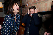 SAMANTHA CAMERON; CHRISTOPHER KANE, BFC/Vogue Designer Fashion Fund winner Christopher Kane announcement. Almada, 33 Dover Street, London,2 February 2011 -DO NOT ARCHIVE-© Copyright Photograph by Dafydd Jones. 248 Clapham Rd. London SW9 0PZ. Tel 0207 820 0771. www.dafjones.com.
