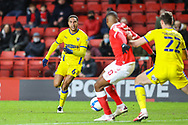 AFC Wimbledon defender Terell Thomas (6) during the EFL Sky Bet League 1 match between Charlton Athletic and AFC Wimbledon at The Valley, London, England on 12 December 2020.