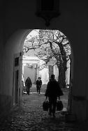 Portugal. Lisbon. Saint Geoges castle district. Alfama district / le quartier de l'Alfama .Quartier du chateau saint Georges.  Lisbonne