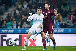 Haris Vuckic during the 2020 UEFA European Championships group G qualifying match between Slovenia and Latvia at SRC Stozice on November 19, 2019 in Ljubljana, Slovenia. Photo by Sasa Pahic Szabo / Sportida