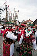 Lipnica Murowana, 2010-03-28. Festyn w czasie konkursu palm wielkanocnych w Niedzielę Palmową w Lipnicy Murowanej