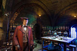 © Licensed to London News Pictures 27/02/2011 London, UK. .The potions room inside The Warner Brothers Studio Tour, Leavesden, Herts where all 8 Harry Potter movies were made and opens to the public this week..Photo credit : Simon Jacobs/LNP