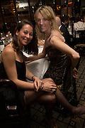 LUISA DE ALZAGA; TEODELINA ESCALANTE;, Dinner in aid of the China Tiger Revival hosted by Sir David Tang and Stephen Fry  at China Tang, Park Lane, London. 1 October 2013. ,