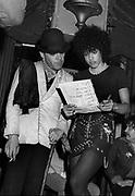 Ian Dury with Denise Roudette