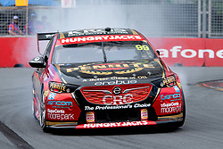 October 19, 2018 - Gold Coast, QLD, U.S. - GOLD COAST, QLD - OCTOBER 19: Will Brown in the Erebus Motorsport Holden Commodore with a mechanical issue during Friday practice at The 2018 Vodafone Supercar Gold Coast 600 in Queensland on October 19, 2018. (Photo by Speed Media/Icon Sportswire) (Credit Image: © Speed Media/Icon SMI via ZUMA Press)