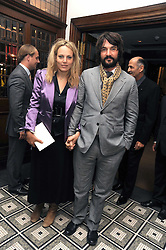 TOM CRAIG and BAY GARNETT at Vogue's Celebation of Fashion dinner held at The Albermarle, Brown's Hotel, Albermarle Street, London on 18th September 2008.