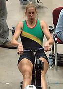 2005 British Indoor Rowing Championships,Sarah Winckless in the closing 100 meters, National Indoor Arena, Birmingham, ENGLAND,    20.11.2005   © Peter Spurrier/Intersport Images - email images@intersport-images..[Mandatory Credit Peter Spurrier/ Intersport Images]