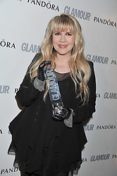 STEVIE NICKS at the Glamour Women of The Year Awards 2011 held in Berkeley Square, London W1 on 7th June 2011.