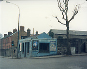 Old amateur photos of Dublin streets churches, cars, lanes, roads, shops schools, hospitals, Streetscape views are hard to come by while the quality is not always the best in this collection they do capture Dublin streets not often available and have seen a lot of change since photos were taken Skerries Lloyds Shop Kilmainham, North WallPost Office, Old House off Lr Sheriff St. April 1987