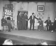 Cast of play - Special for Gael Linn .14/05/1958 .
