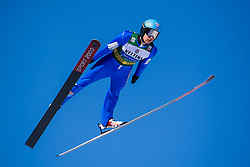 March 2, 2018 - Lahti, FINLAND - 180209 Jan Schmid of Norway during a Ski jumping training session ahead of the FIS Nordic Combined World Cup on March 02, 2018 in Lahti. .Photo: Fredrik Varfjell / BILDBYRÃ…N / kod FV / 150068 (Credit Image: © Fredrik Varfjell/Bildbyran via ZUMA Press)