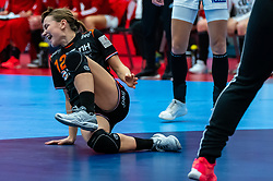 Bo Van Wetering of Netherlands in action during the Women's EHF Euro 2020 match between Netherlands and Hungry at Sydbank Arena on december 08, 2020 in Kolding, Denmark (Photo by RHF Agency/Ronald Hoogendoorn)