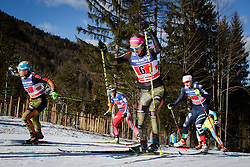 Laura Gimmler (GER) and Sandra Ringwald (GER) during the ladies team sprint race at FIS Cross Country World Cup Planica 2016, on January 17, 2016 at Planica, Slovenia. Photo by Ziga Zupan / Sportida