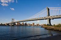 Manhattan Bridge New York October 2008