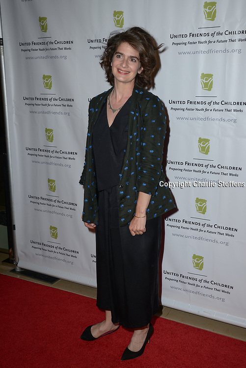 GABY HOFFMANN at the United Friends of the Children's 12th Annual Brass Ring Awards Dinner at The Beverly Hilton Hotel in Los Angeles, California