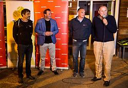 Rok Vodnik, Rado Mulej, Gasper Bolhar and Marko Umberger at Petrol VIP tournament 2018, on May 24, 2018 in Sports park Tivoli, Ljubljana, Slovenia. Photo by Vid Ponikvar / Sportida