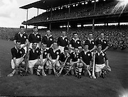07/09/1958<br /> 09/07/1958<br /> 7 September 1958<br /> All-Ireland Senior Final: Galway v Tipperary at Croke Park, Dublin. Galway team.
