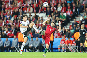 João Mourtinho of Portugal, during the match against Austria, valid for the European Championship Group F 2016 in the Parc des Princes stadium in Paris on Saturday 18. The game ended 0 to 0.
