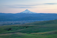Mount Hood seen from Columbia Hills State Park Washington
