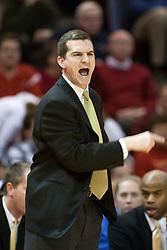 10 February 2005<br /> <br /> Mark Turgeon<br /> <br /> Illiniois State Redbirds V Wichita State Shockers Mens NCAA Missouri Valley Conference Basketball. Redbird Arena, Illinois State University, Normal IL