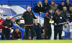 February 18, 2019 - London, United Kingdom - Manchester United First-team coach Mike Phelan.during FA Cup Fifth Round between Chelsea and Manchester United at Stanford Bridge stadium , London, England on 18 Feb 2019. (Credit Image: © Action Foto Sport/NurPhoto via ZUMA Press)