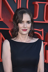 """Winona Ryder attends the premiere of Netflix's """"Stranger Things"""" Season 3 on June 28, 2019 in Santa Monica, CA, USA. Photo by Lionel Hahn/ABACAPRESS.COM"""