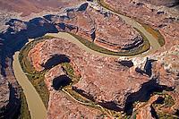 Bends in the Green River, Utah