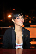 """Rihanna at The Island Def Jam & Escada Moon Sparkle Present """" A Girls Night Out """" in support of Rihanna's Believe Foundation held at The Highline Ballroom on April 9, 2008"""