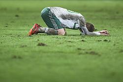 November 12, 2017 - Basel, Schweiz - Basel, 12.11.2017, Fussball WM Qualifikation Playoff - Schweiz - Nordirland, Enttäuschung bei Steven Davis (NOR) (Credit Image: © Melanie Duchene/EQ Images via ZUMA Press)