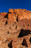 Pueblo Bonito, Chaco Culture National Historical Park (Chaco Canyon), New Mexico USA.