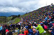 Illustration landscape and public during the 101th Tour of Italy, Giro d'Italia 2018, stage 14, San Vito Al Tagliamento - Monte Zoncolan 181 km on May 19, 2018 in Italy - Photo Dario Belingheri / BettiniPhoto / ProSportsImages / DPPI