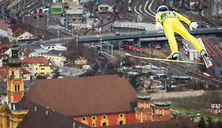 03.01.2013, Bergisel Schanze, Innsbruck, AUT, FIS Ski Sprung Weltcup, 61. Vierschanzentournee, Training, im Bild Michael Hayboeck (AUT) // Michael Hayboeck of Austria during practice Jump of 61th Four Hills Tournament of FIS Ski Jumping World Cup at the Bergisel Schanze, Innsbruck, Austria on 2013/01/03. EXPA Pictures © 2012, PhotoCredit: EXPA/ Juergen Feichter