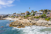 Laguna Beach Aerial Ocean View Real Estate