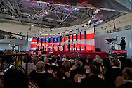 Eight republican candidates for US President face off at a debate held at the Ronald Reagan Library. The debate was sponsored by NBC News and POLITICO, and was moderated by Brian Williams, anchor of NBC Nightly News.