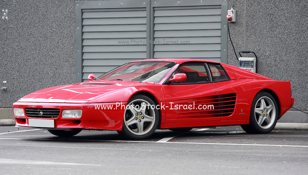 Ferrari Testa Rossa side view