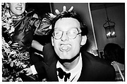 Paul Newman, Grattan-Bellew/ Sebag-Montefiore/ Courtauld dance, Boodles. London. 1981. © Copyright Photograph by Dafydd Jones 66 Stockwell Park Rd. London SW9 0DA Tel 020 7733 0108 www.dafjones.com